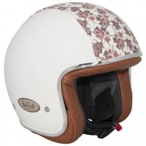 BARUFFALDI ZAR VINTAGE TETTI FIORI Jet Helmet - Matt White