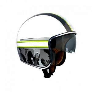 CGM 133M ARMY Jet Helmet - White