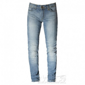 MOTTO WEAR Stella Motorcycle Woman Jeans - Blue