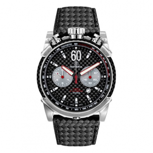 CT SCUDERIA Fibra di Carbonio Collection Rocket CS10131 Watch - Black/Steel