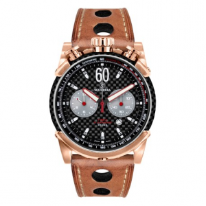 CT SCUDERIA Fibra di Carbonio Collection Rocket CS10132 Watch - Black/Gold