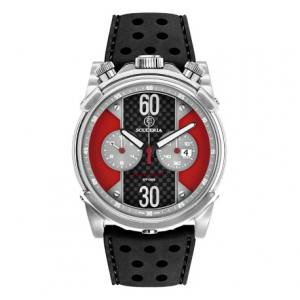 CT SCUDERIA Street Racer Collection CS10139 Watch - Black/Red/Steel