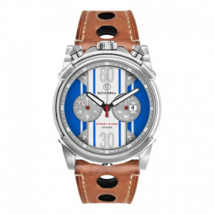 CT SCUDERIA Street Racer Collection CS10141N Watch - White/Blue/Steel