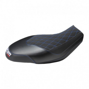 TAPPEZZERIA ITALIA Ischia Seat Cover for Ducati Scrambler - Black