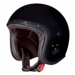 CABERG Freeride Open Face Helmet - Black