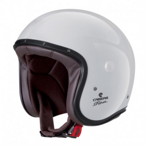CABERG Freeride Open Face Helmet - White