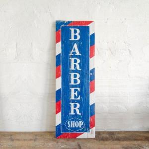 BERIDER Barber Shop Cafe Racer Wood Sign - 29x90