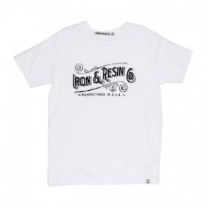 IRON & RESIN Chattahoochie Man T-Shirt - White