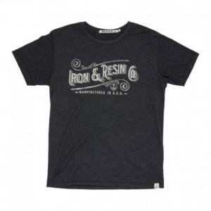 IRON & RESIN Chattahoochie Man T-Shirt - Charcoal