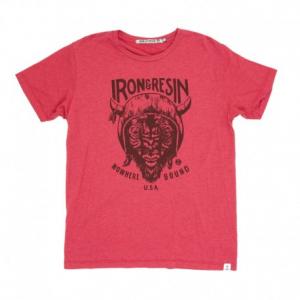 IRON & RESIN Paso Man T-Shirt - Red