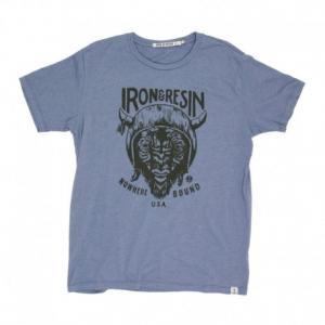 IRON & RESIN Paso Man T-Shirt - Washed Blue