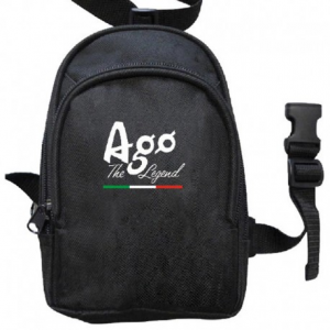 GIACOMO AGOSTINI Ago The Legend Leg Pouch - Black