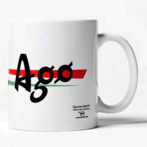 GIACOMO AGOSTINI Ago Mug - White