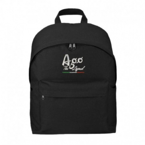 GIACOMO AGOSTINI Ago The Legend Backpack - Black