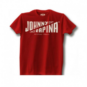JOHNNY RAPINA Recupero Crediti Man T-shirt - Red