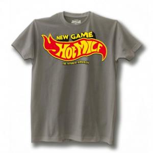 JOHNNY RAPINA Hot Milf Man T-shirt - Grey