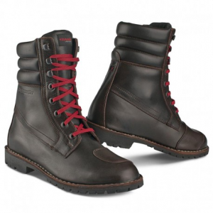 STYLMARTIN Urban INDIAN Laces Red Man Boots - Brown