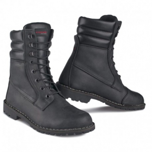 STYLMARTIN Urban INDIAN BLACK Laces Black Man Boots - Black