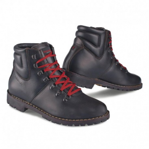STYLMARTIN Urban RED ROCK Laces Red Man Boots - Brown