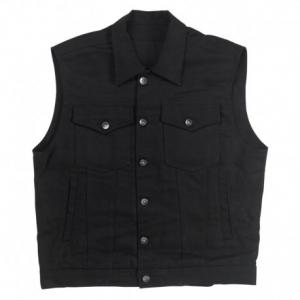 BILTWELL Prime Cut Collared Man Waistcoat - Black
