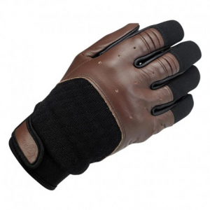 BILTWELL Bantam Motorcycle Gloves - Black/Brown