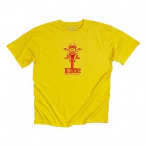 BILTWELL Gremmie Man T-Shirt - Yellow
