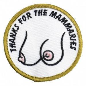 BILTWELL Mammaries Patch - Diam. 6,5 cm