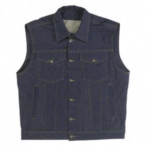 BILTWELL Prime Cut Collared Man Waistcoat - Jeans
