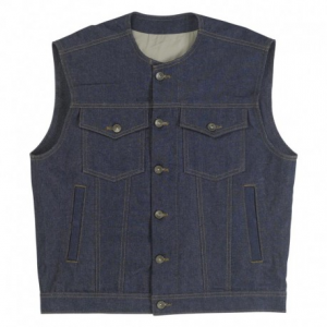 BILTWELL Prime Cut Man Waistcoat - Jeans