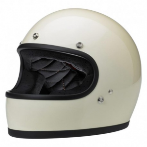 BILTWELL Gringo Full Face Helmet - Gloss Vintage White
