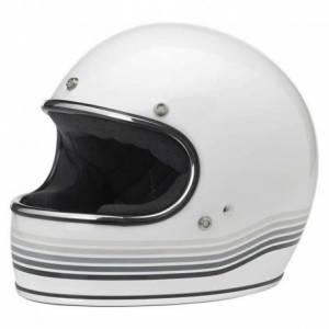 BILTWELL Gringo LE SPECTRUM Full Face Helmet - Gloss White