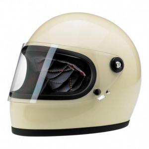 BILTWELL Gringo S Full Face Helmet - Gloss Vintage White