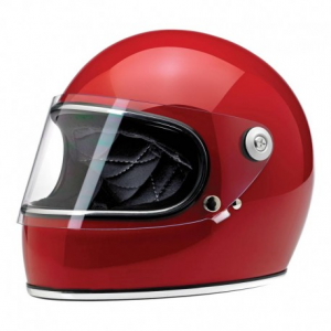 BILTWELL Gringo S Full Face Helmet - Gloss Blood Red
