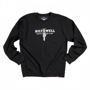 BILTWELL Parts Crew Neck Man Sweatshirt - Black