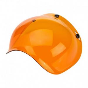 BILTWELL Bubble Helmet Visor - Amber