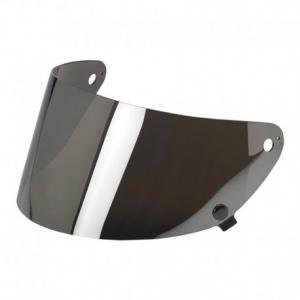 BILTWELL Gringo S Flat Helmet Visor - Chrome Mirror