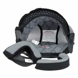 BILTWELL Bonanza Helmet Inner Lining - Black/Grigio