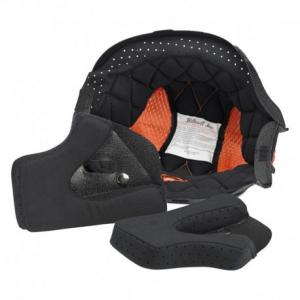 BILTWELL Gringo/Gringo S Helmet Inner Lining - Black/Orange
