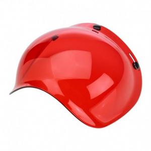 BILTWELL Bubble Helmet Visor - Red