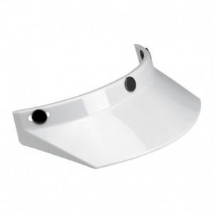 BILTWELL Moto Helmet Peak - White