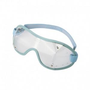 PARACHIC Motorcycle EyeGlasses - Light Blue/Clear Lens