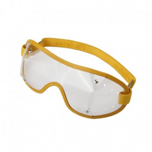 PARACHIC Motorcycle EyeGlasses - Yellow/Clear Lens