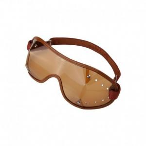 PARACHIC Motorcycle EyeGlasses - Brown/Dark Lens