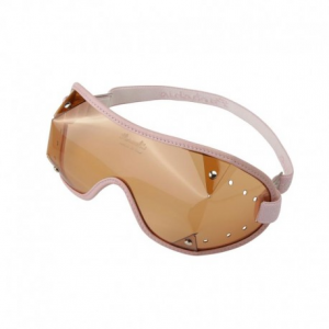 PARACHIC Motorcycle EyeGlasses - Pink/Dark Lens