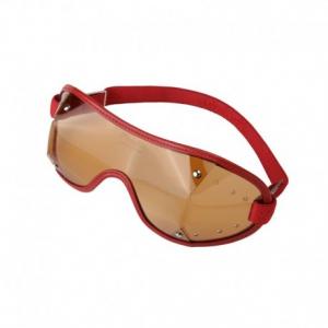 PARACHIC Motorcycle EyeGlasses - Red/Dark Lens