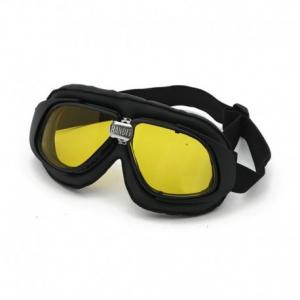 BANDIT CLASSIC Helmet Goggles - Black with Yellow Lenses