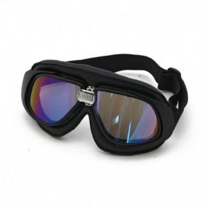 BANDIT CLASSIC Helmet Goggles - Black with Iridium Lenses