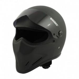 BANDIT CRYSTAL Full Face Helmet - Matt Black