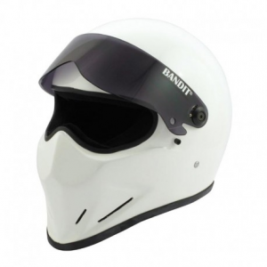BANDIT CRYSTAL Full Face Helmet - White