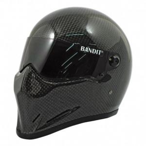 BANDIT CRYSTAL CARBON Full Face Helmet - Carbon Black